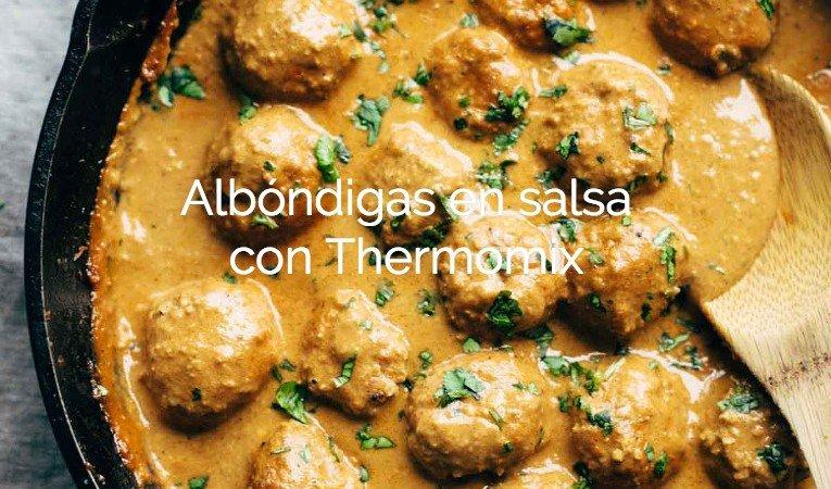 Albóndigas En Salsa Thermomix