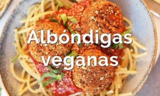 Albóndigas veganas