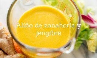 Aliño de zanahoria y jengibre