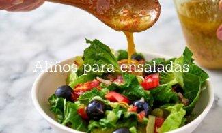 Aliños para ensaladas