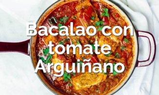 Bacalao con tomate de Arguiñano