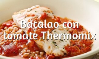 Bacalao con tomate en Thermomix