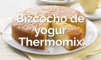 Bizcocho de yogur en Thermomix