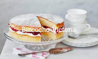 Bizcocho Victoria (Victoria Sponge Cake)