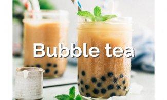 Bubble tea o té de burbujas