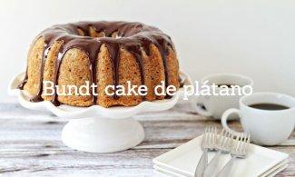 Bundt cake de plátano