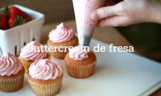 Buttercream de fresa