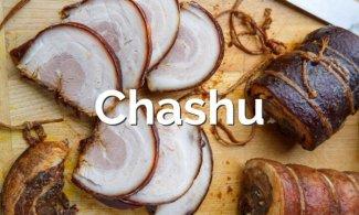 Chashu (cerdo marinado japonés)