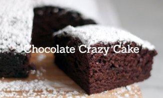 Chocolate Crazy Cake (sin huevos ni lácteos)