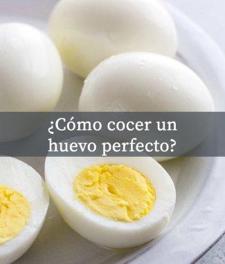 Cómo cocer un huevo