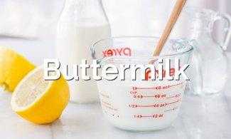 Cómo hacer buttermilk