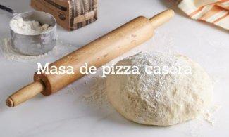 Cómo hacer masa de pizza