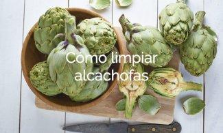 Cómo limpiar alcachofas