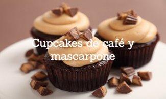 Cupcakes de café y mascarpone