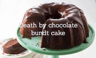 Death by chocolate bundt cake