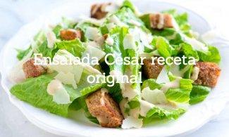 Ensalada César receta original