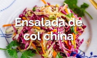 Ensalada de col china