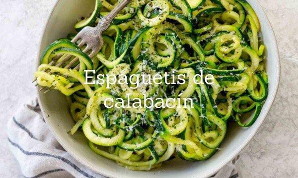 Cómo Hacer Espaguetis De Calabacín
