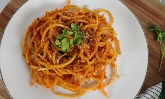 Espaguetis de calabaza