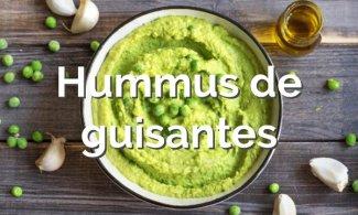 Hummus de guisantes