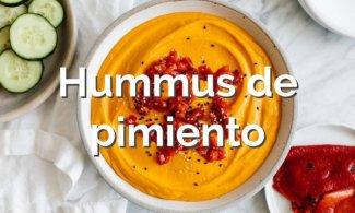 Hummus de pimiento