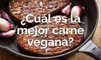 La mejor carne vegana