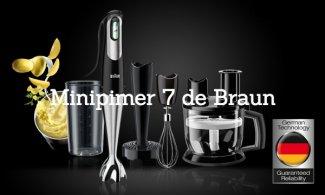 La nueva Minipimer 7 de Braun