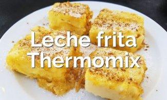 Leche frita en Thermomix