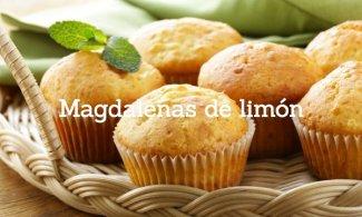 Magdalenas de limón