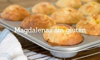 Magdalenas sin gluten