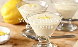 Mousse de limón Thermomix