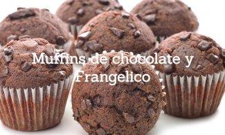 Muffins de chocolate y Frangelico