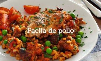 Paella de pollo
