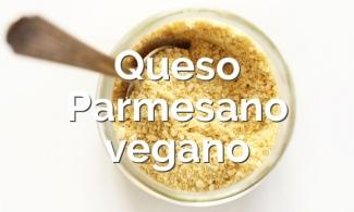Queso parmesano vegano