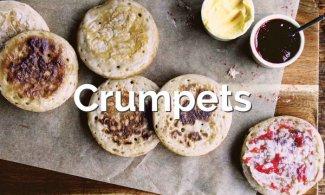 Receta Crumpets