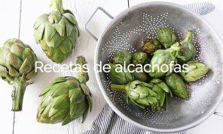 Recetas de alcachofas