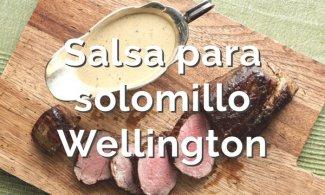 Salsa para solomillo Wellington