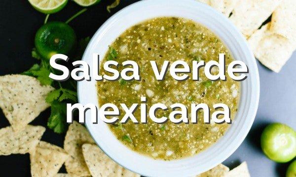 como hacer salsa verde mexicana
