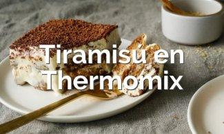 Tiramisú en Thermomix