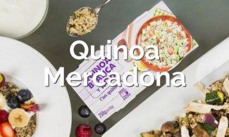 Todas las opciones de quinoa que hay en Mercadona
