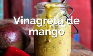 Vinagreta de mango