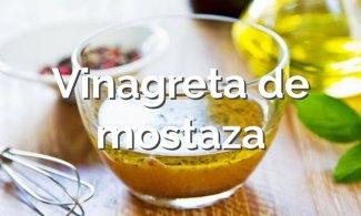 Vinagreta de mostaza